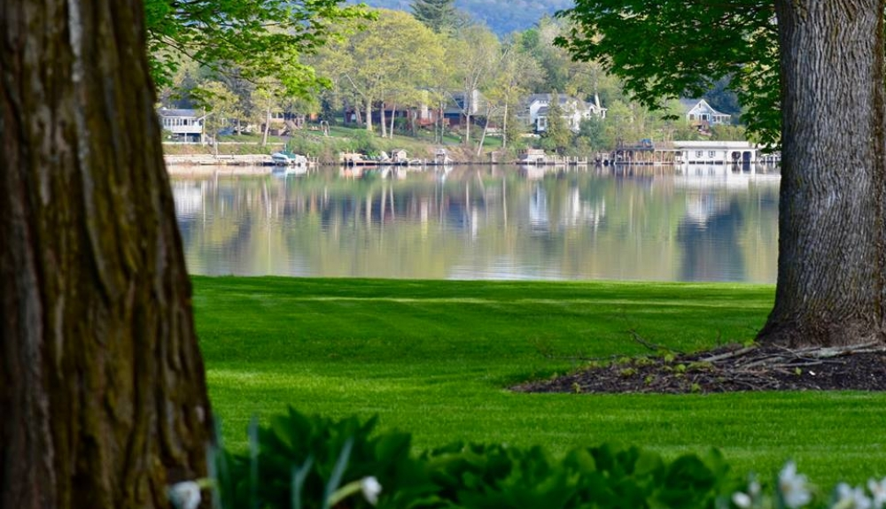 Lake from center grounds