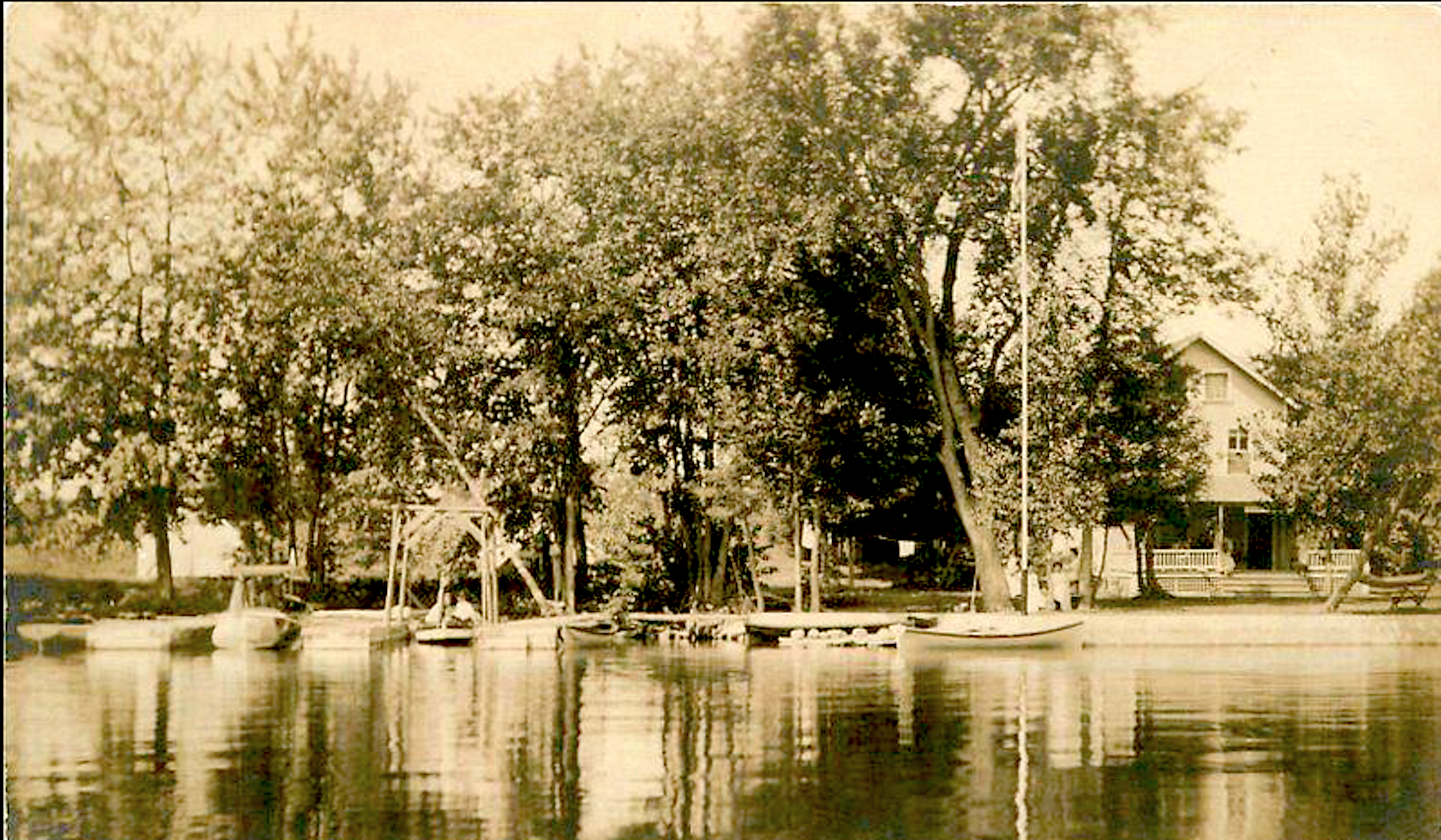 Cleverdale, NY from Lake George, circa 1920