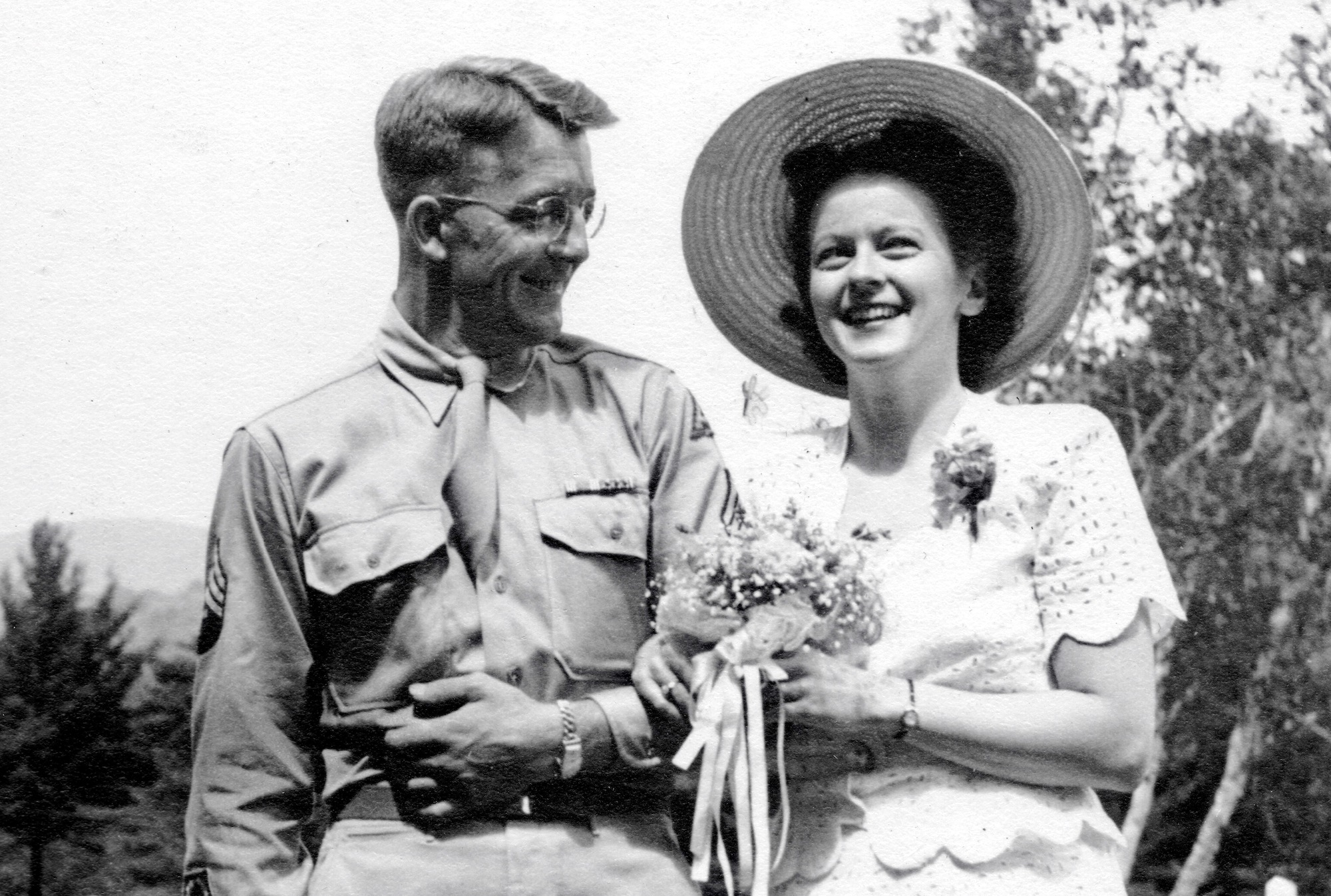 Alger and Jane Mason wedding, 1947