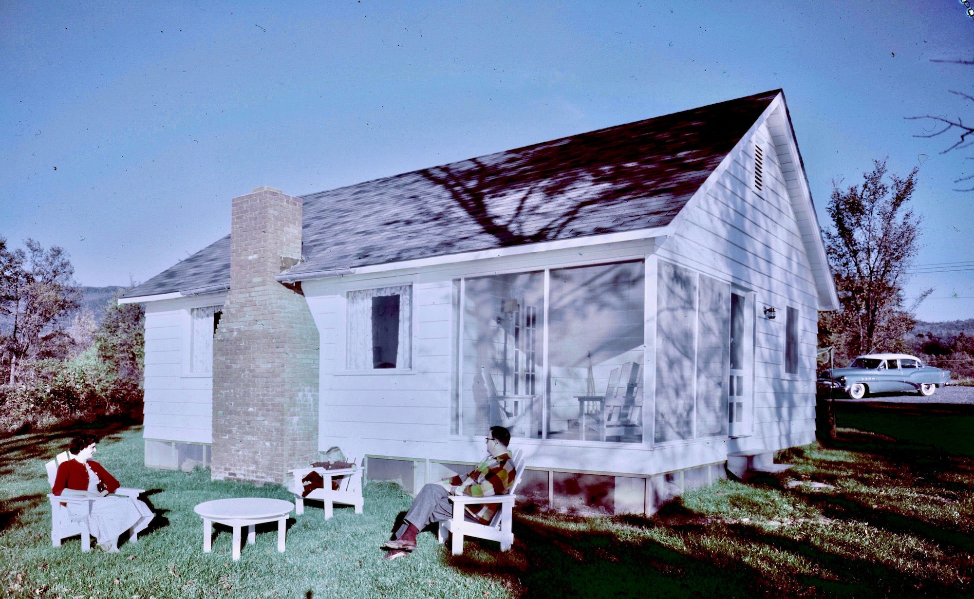 Takundewide Cottage #3 in 1954