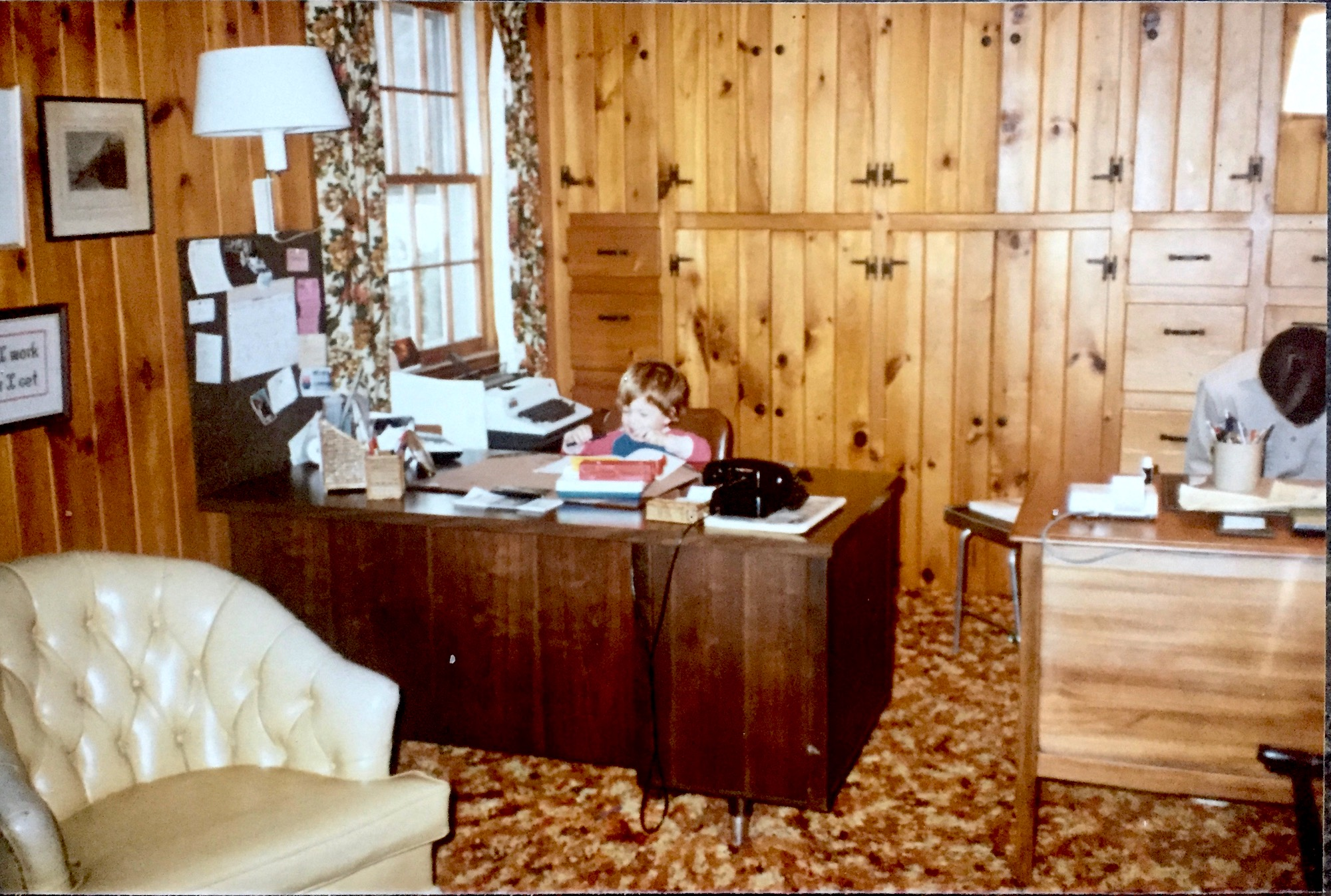 Takundewide office, circa 1982