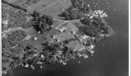 Aerial of Takundewide Cottages in 1960