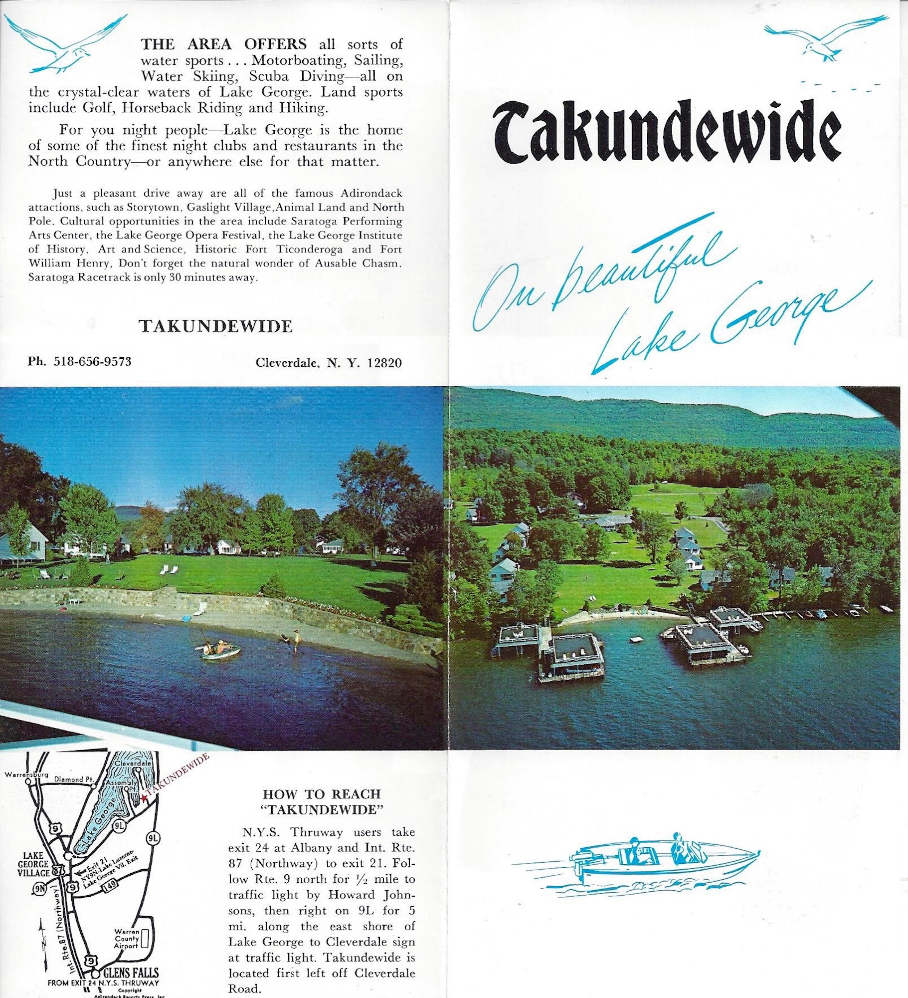 Takundewide brochure from 1970