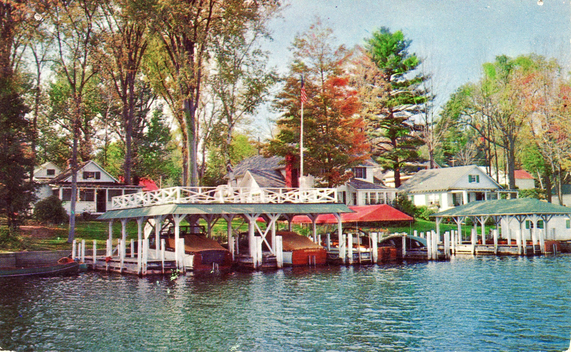 Mason Cottages in Cleverdale, NY  postcard