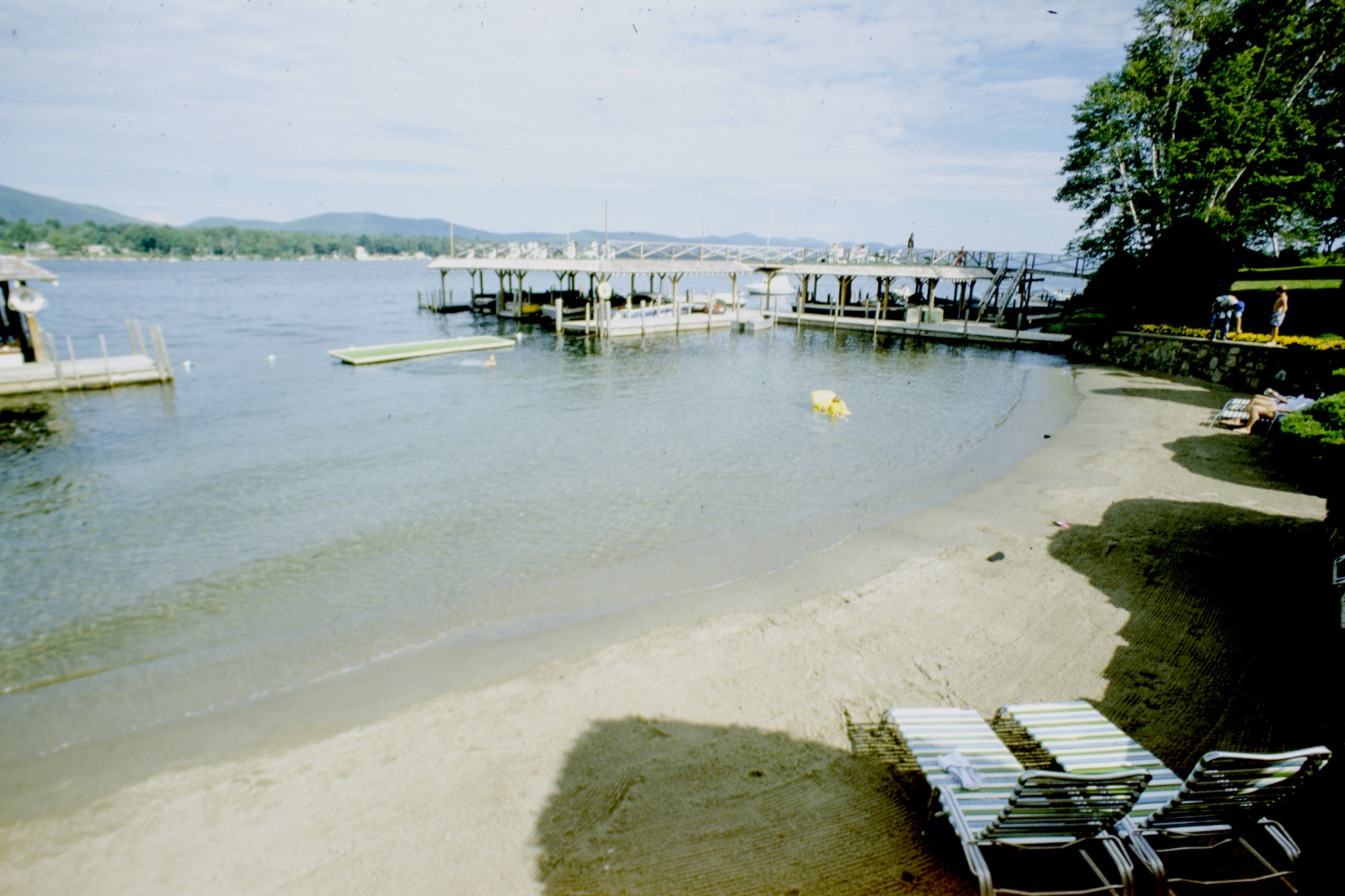 Takundewide beach, 1988