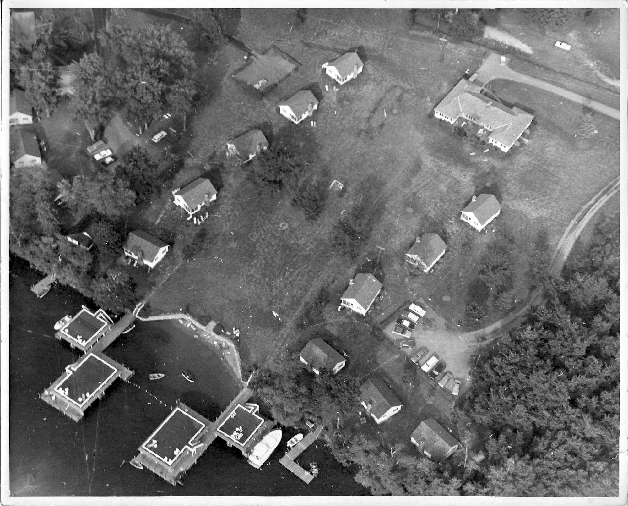 Aerial of Takundewide in 1960s