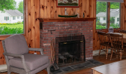 Cottage #16 fireplace