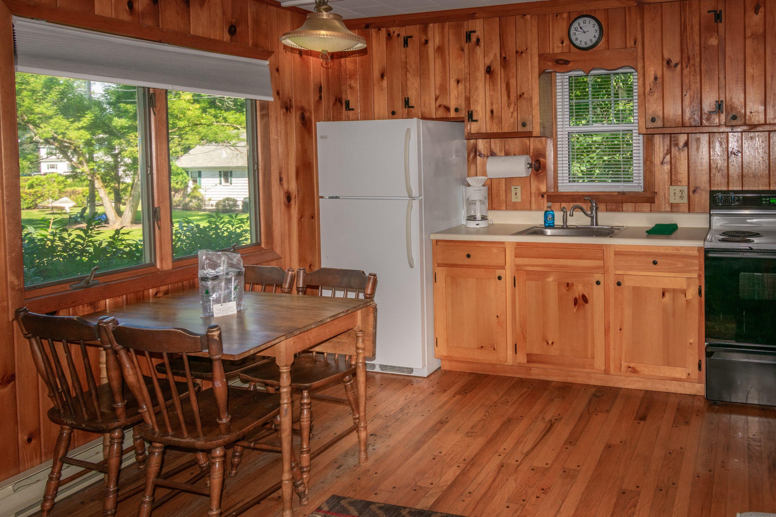 Cottage #16 kitchen