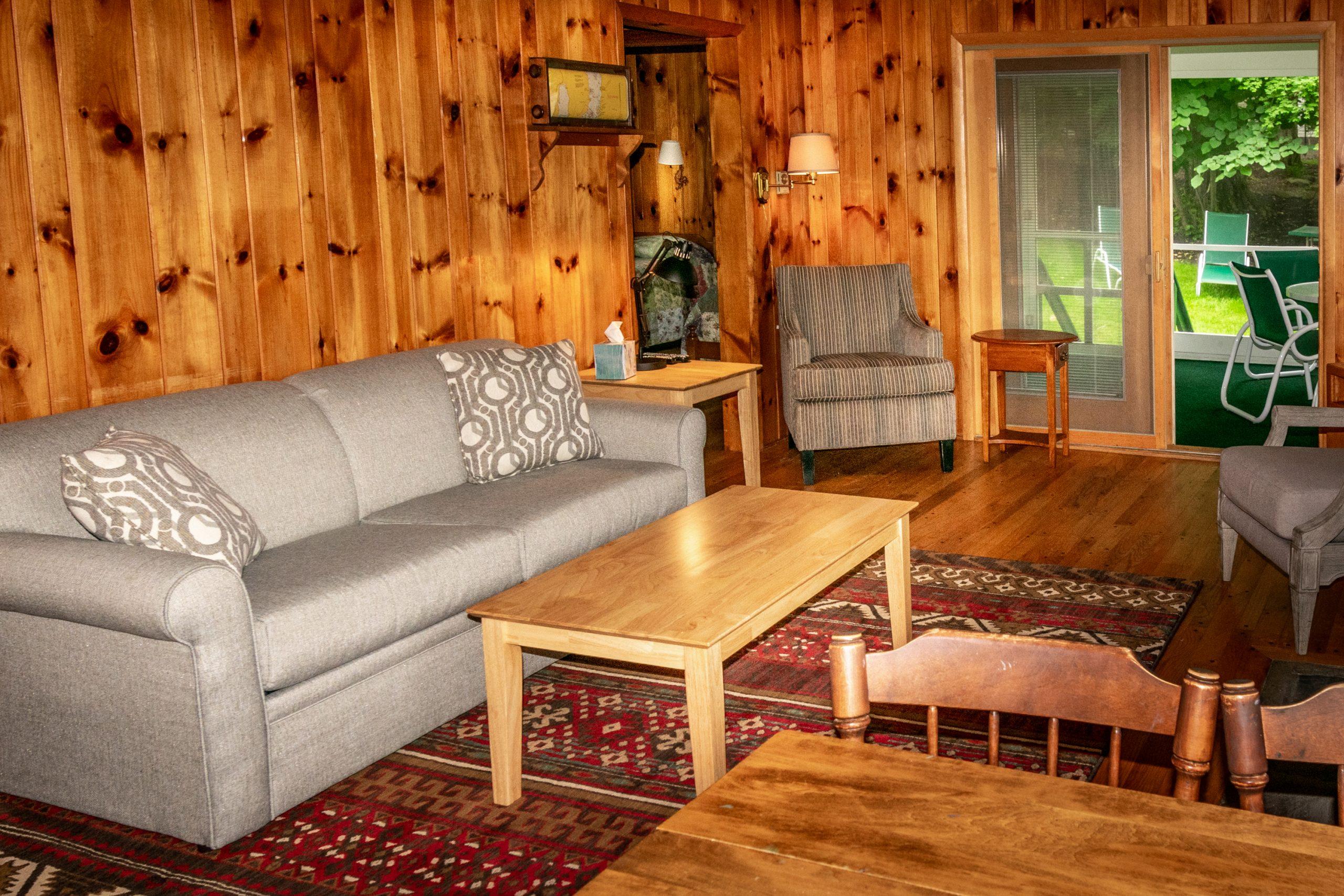 Cottage #16 livingroom
