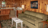 Takundewide Cottage #19 knotty pine Living Room