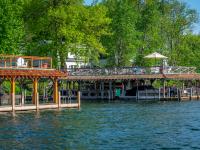 Takundewide Cottages on Lake George sundecks