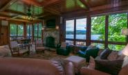 Takundewide lakefront Cottage #8 living room