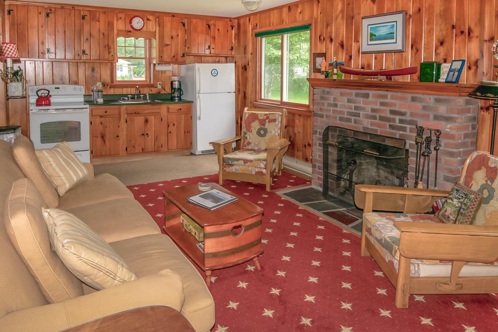 Takundewide Cottage #13 lrwithfireplaceJul2019DSC_0362
