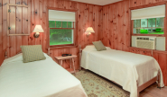 Takundewide Cottage #19 twin bedroom