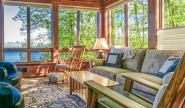 Takundewide Cottage #8 lakefront living room